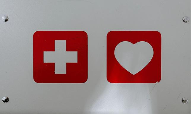 応急処置の画像